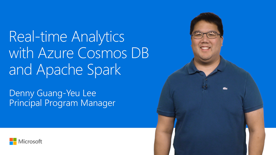 Apply real-time analytics with Azure Cosmos DB and Spark