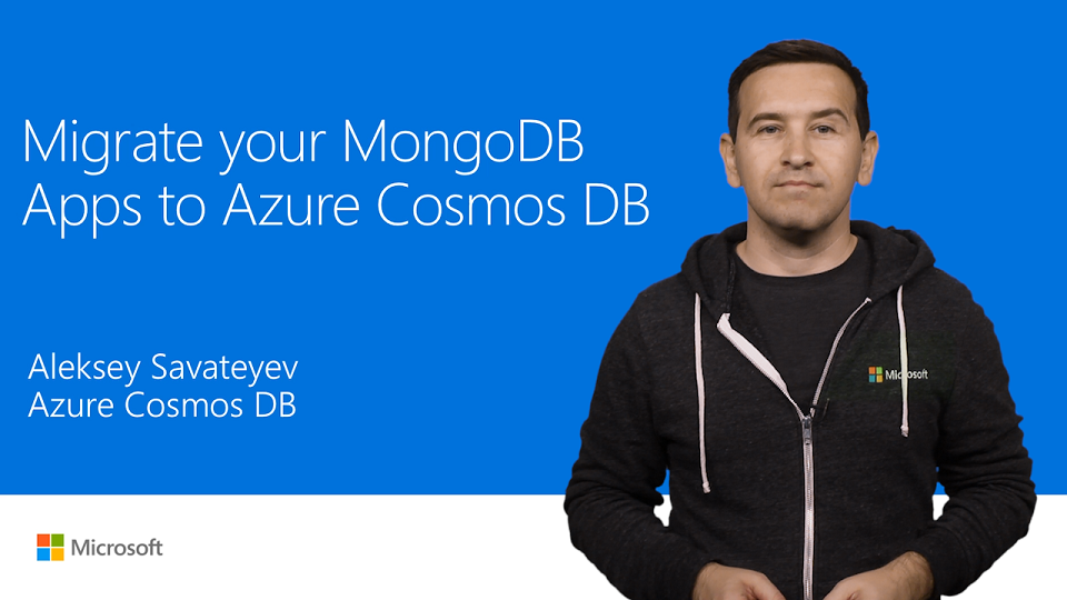 Migrate MongoDB apps to Azure Cosmos DB