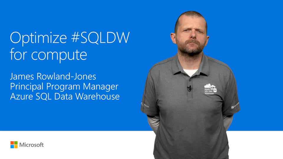 Optimize for compute: New Azure SQL Data Warehouse performance tier