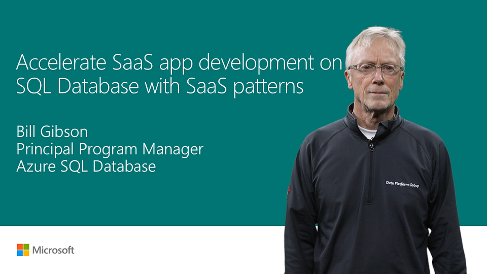 Accelerate SaaS app development in SQL Database with SaaS patterns