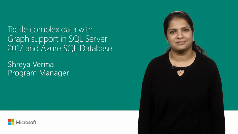 Get graph support in SQL Server 2017 and Azure SQL Database