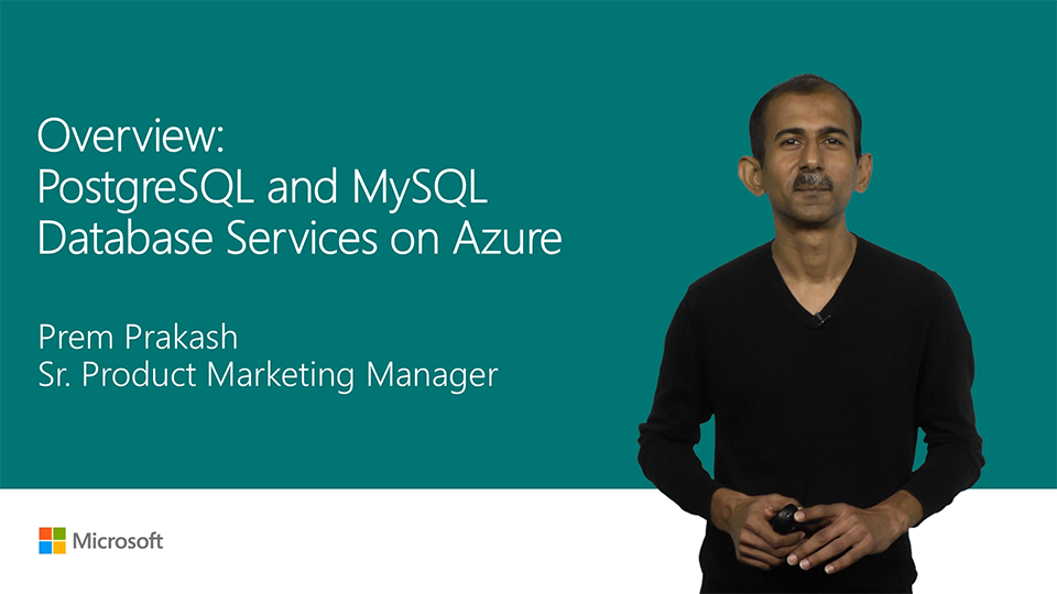 Overview: Azure Database for PostgreSQL and MySQL