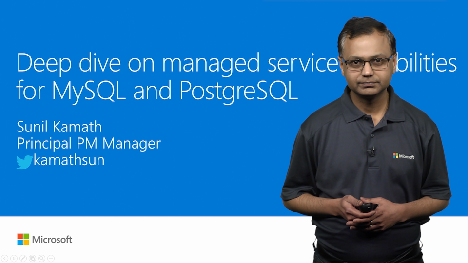 Deep dive on managed service capabilities for MySQL and PostgreSQL