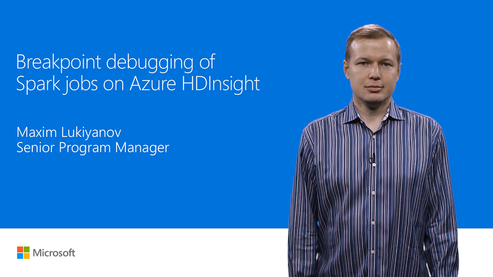 Breakpoint debugging of Spark jobs in Azure HDInsight