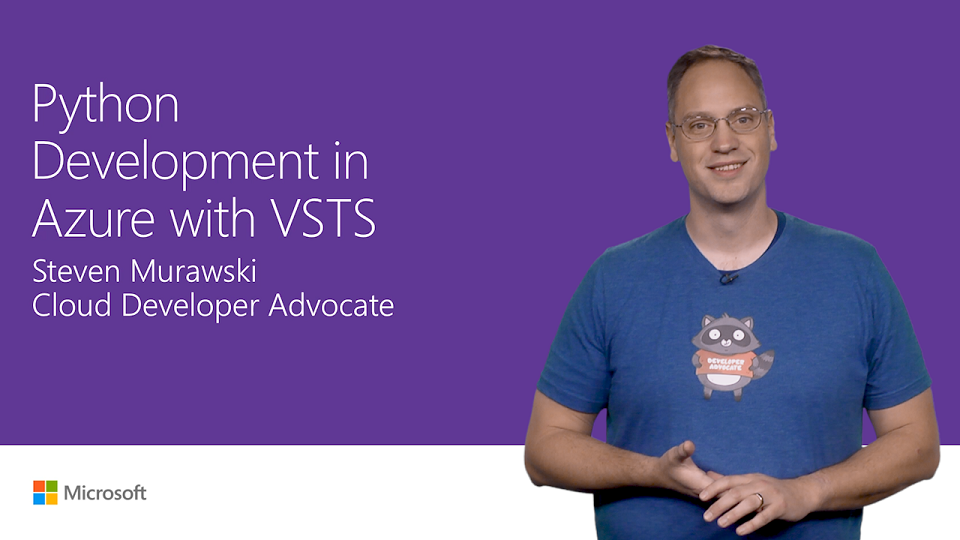 Python development in Azure with Visual Studio Team Services