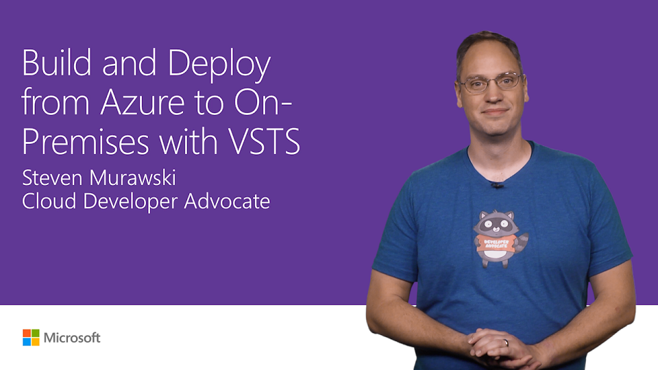 Build in Azure and deploy on-premises with Visual Studio Team Services