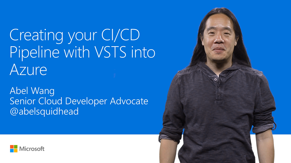 Create and customize a CI/CD pipeline in Visual Studio Team Services