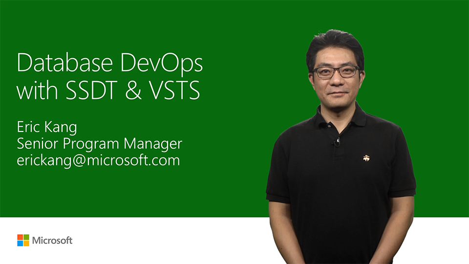 Database DevOps with SQL Server Data Tools and Team Services