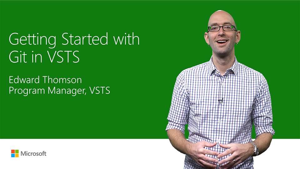 Get started with Git in Visual Studio Team Services