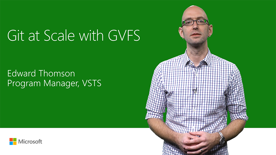 Git at scale with Git Virtual File System