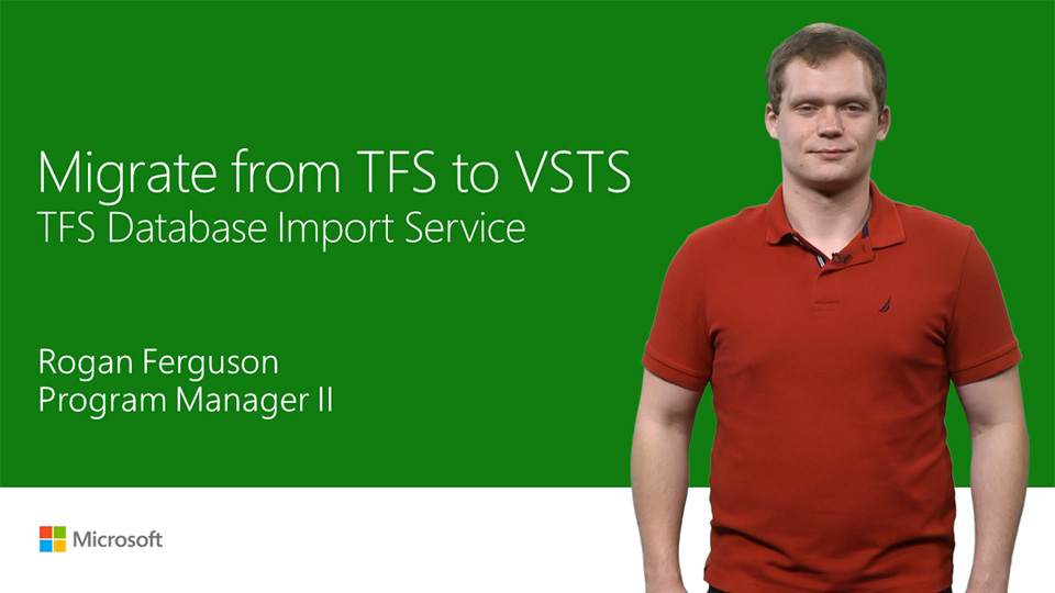 Migrate from TFS to Team Services with the TFS Database Import Service