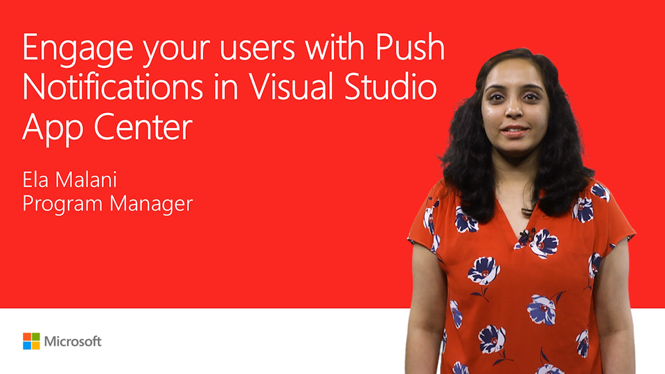 Engage your users with push notifications in App Center