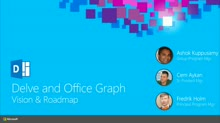 Office Delve and Office Graph Vision and Roadmap