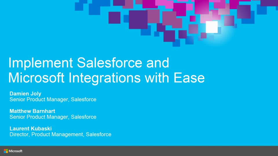Salesforce: Learn How to Implement and Drive Productivity with Salesforce and Microsoft Integrations