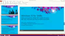Overview of Windows 10 for SMB: The Modern Platform for Your Small and Mid-Sized Businesses