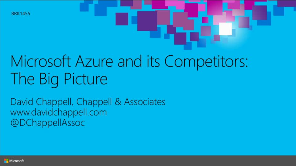 Microsoft Azure and Its Competitors: The Big Picture