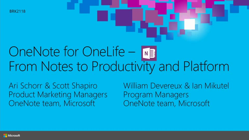OneNote for OneLife: From Notes to Productivity and Platform