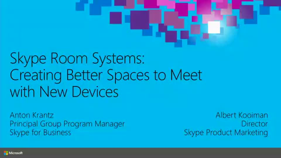 Skype Room Systems: Creating Better Spaces to Meet with New Devices