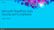 Microsoft SharePoint Data Security and Compliance