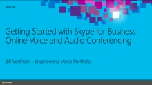 Getting Started with Skype for Business Online Voice and Audio Conferencing