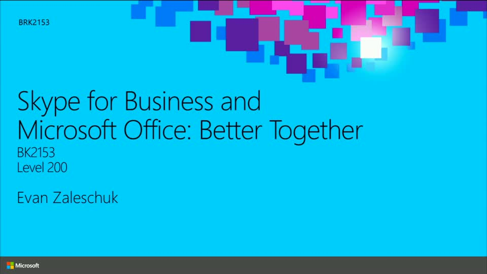 Skype for Business and Microsoft Office: Better Together