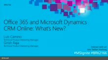 Office 365 and Microsoft Dynamics CRM Online: What's New?