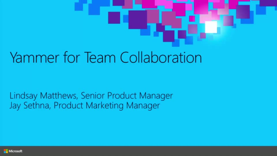 Yammer for Team Collaboration