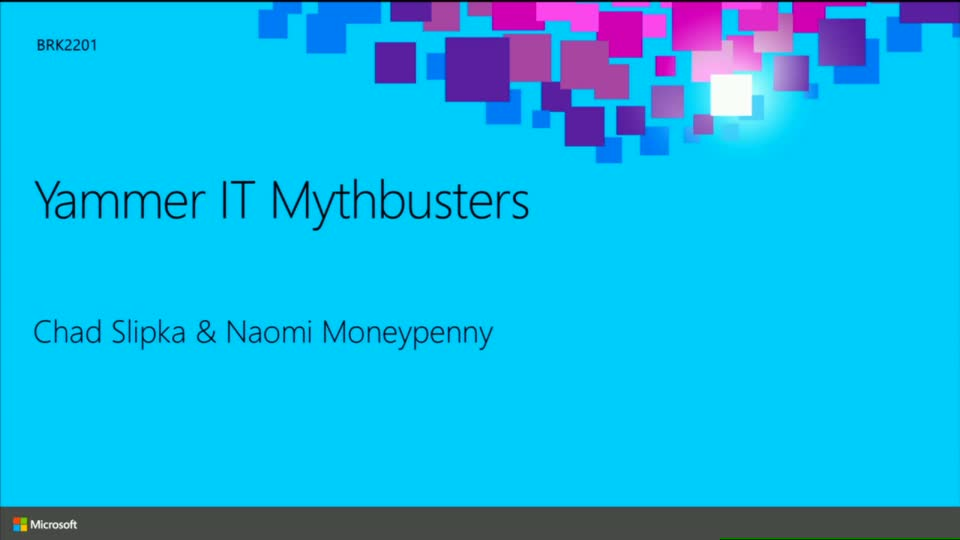 Yammer IT Mythbusters