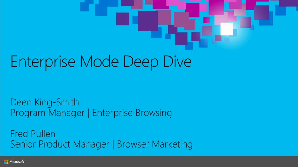Enterprise Mode for Internet Explorer 11 Deep Dive