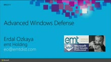 Advanced Windows Defense