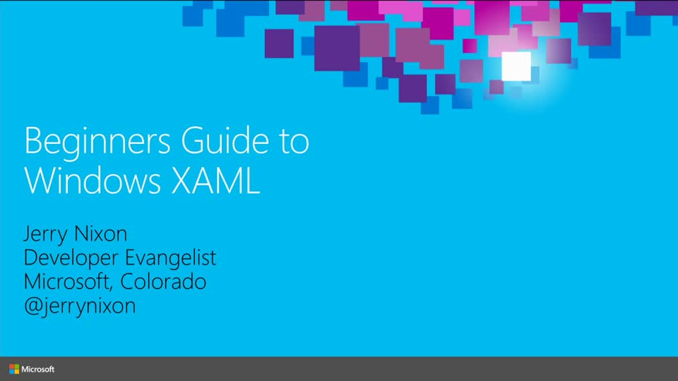 Getting Started with Windows XAML