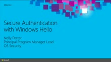 Secure Authentication with Windows Hello