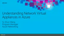 Understanding Network Virtual Appliances