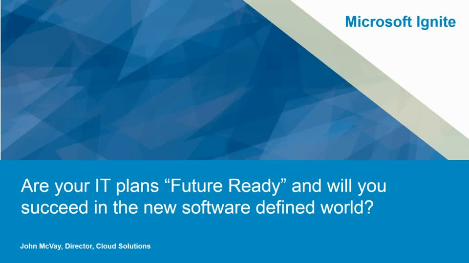 "Dell: Are Your IT Plans ""Future Ready"" and Will You Succeed in the New Software Defined World?"