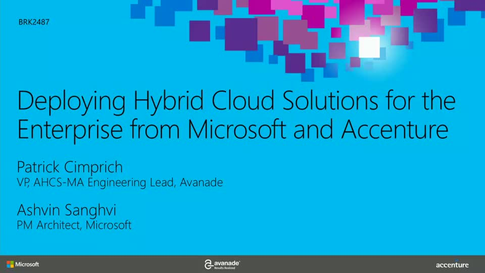 Deploying Hybrid Cloud Solutions For The Enterprise From