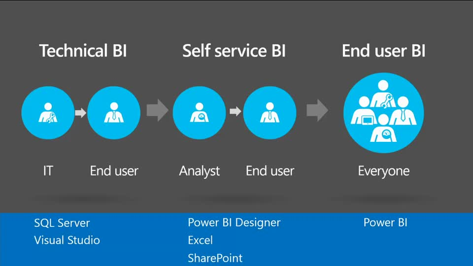 Microsoft SQL Server BI Drill Down