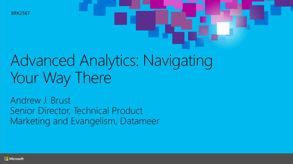 Advanced Analytics: Navigating Your Way There