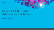 Microsoft Azure SQL Database - New ISV Resource Pooling Model Drilldown: The What, Why and How