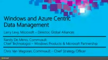 CommVault: Windows and Microsoft Azure Centric Heterogeneous Data Management