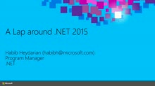 A Lap around .NET 2015