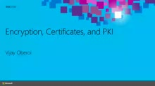Demystifying Encryption, Certificates, and PKI