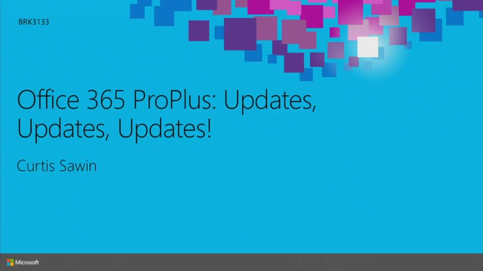 Office 365 ProPlus: Updates, Updates, Updates!