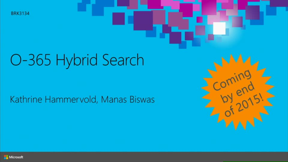 Implementing Next Generation SharePoint Hybrid Search with the Cloud Search Service Application