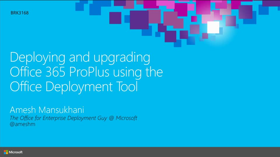 Deploying and Updating Office 365 ProPlus Using the Office Deployment Tool