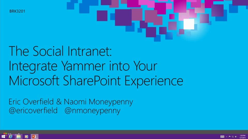 The Social Intranet: Integrate Yammer into Your Microsoft SharePoint Experience
