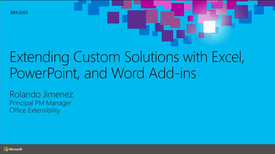 Extending Custom Solutions with Excel, PowerPoint, and Word Add-ins