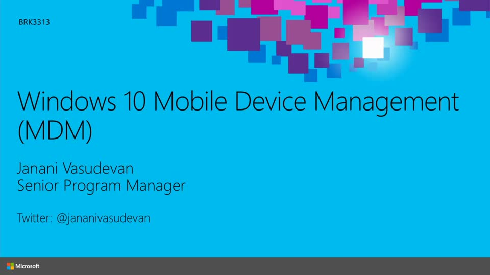 Windows 10 Mobile Device Management (MDM) in Depth