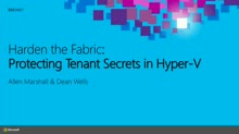 Harden the Fabric: Protecting Tenant Secrets in Hyper-V
