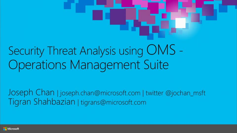 Security Threat Analysis Using Microsoft Azure Operational Insights