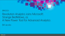 Revolution Analytics Joins Microsoft:  Strange Bedfellows or a New Power Tool for Advanced Analytics